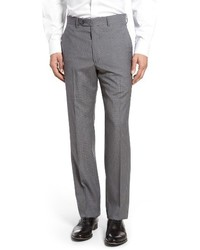 Flat front check wool trousers medium 1247735