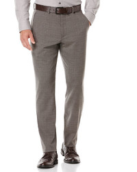 Perry Ellis Slim Fit Grey Check Suit Pant