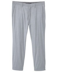 Mango Chinos Metallic Grey