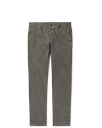 Incotex Slim Fit Stretch Cotton Corduroy Trousers