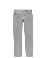 AG Jeans Stockton Skinny Fit Brushed Stretch Cotton Trousers