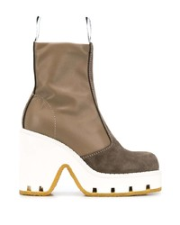 MM6 MAISON MARGIELA Panelled Chunky Ankle Boots