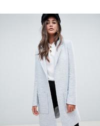 Asos Tall Asos Design Tall Slim Coat In Texture