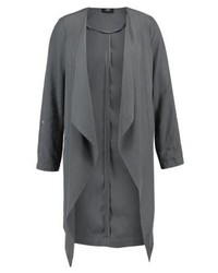 Wallis Classic Coat Dark Grey