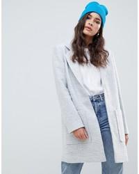 ASOS DESIGN Slim Coat In Texture