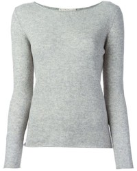 Grey crew neck sweater original 1330827