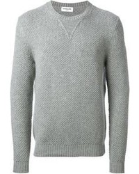 Grey crew neck sweater original 404838