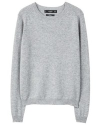 Mango Bahia Jumper Medium Heather Grey
