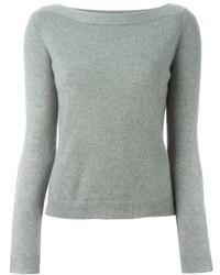 Ralph Lauren Black Boat Neck Sweater