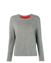 Chinti & Parker Contrast Back Panel Sweater