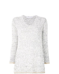 Fabiana Filippi Contrast Trim Sweater