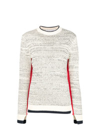 Victoria Victoria Beckham Contrast Trim Sweater