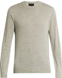 Crew neck cashmere sweater medium 1033918