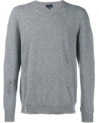 Lanvin Frayed Classic Jumper