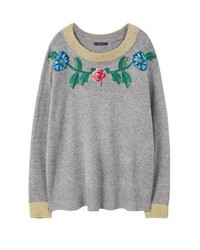 Mango Jumper Grey