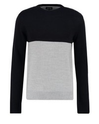 Jumper greydark blue medium 3766533
