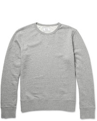 Officine Generale Loopback Cotton Jersey Sweatshirt