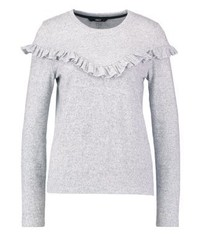 Onlelcos jumper light grey melange medium 3941130