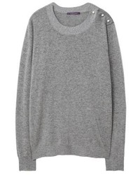 Mango Puxi Jumper Mottled Grey