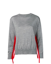 Sofie D'hoore Stripe Detail Loose Sweater