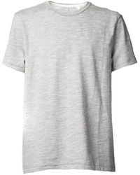 Grey Crew-neck T-shirt