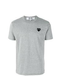 Comme Des Garcons Play Comme Des Garons Play Heart Patch T Shirt