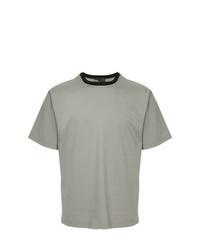 Kolor Contrast Collar T Shirt