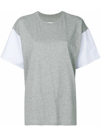 Contrast sleeve t shirt medium 6990840