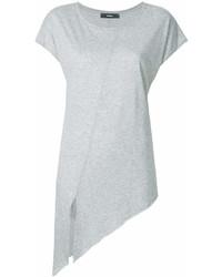 Front slit elongated t shirt medium 6990773