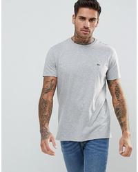 Lacoste Logo T Shirt In Grey