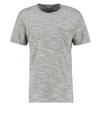 ONLY & SONS Onstheo Regular Fit Print T Shirt Medium Grey Melange