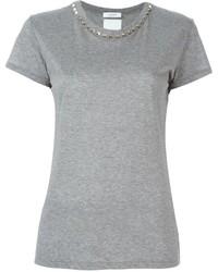 Valentino Rockstud Collar T Shirt