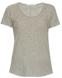 Rag & Bone Slacker Short Sleeved Cotton T Shirt