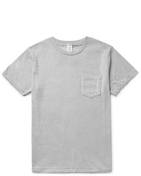 Velva Sheen Slub Cotton Blend Jersey T Shirt