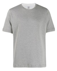 Eleventy Two Tone Collar T Shirt