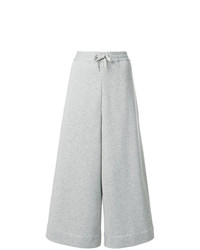 Maison Margiela Wide Leg Cropped Track Pants