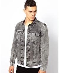 Grey Denim Jackets for Men | Men&39s Fashion