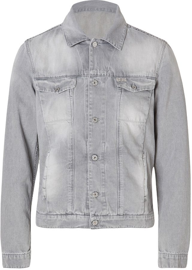 7 For All Mankind Seven For All Mankind Denim Jacket In ...