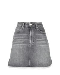 Calvin Klein Jeans A Line Denim Mini Skirt