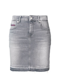 Tommy Jeans Stonewashed Denim Mini Skirt