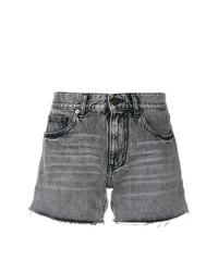 Saint Laurent Faded Mini Shorts