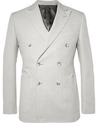 Grey double breasted blazer original 2638275