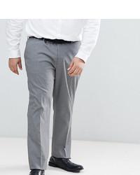 ASOS DESIGN Asos Plus Slim Smart Trousers In Grey