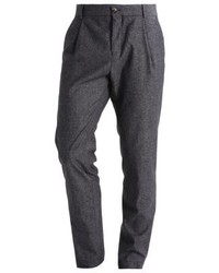 Bertoni Hjelm Suit Trousers Salt And Pepper