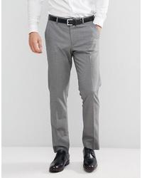 ASOS DESIGN Slim Suit Trouser In Grey