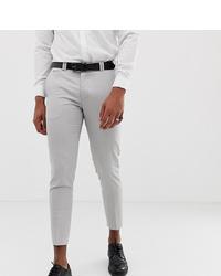 Noak Tapered Smart Trouser In Stone