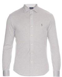 Polo Ralph Lauren Button Cuff Cotton Piqu Shirt