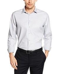 Modern Kent Tape Business Shirt Grey Grau 37 Cm