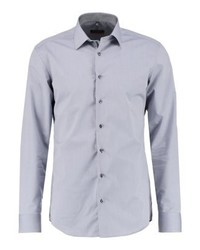 Eterna Slim Fit Formal Shirt Grau
