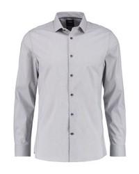 Burton Menswear London Stretch Skinny Fit Formal Shirt Grey